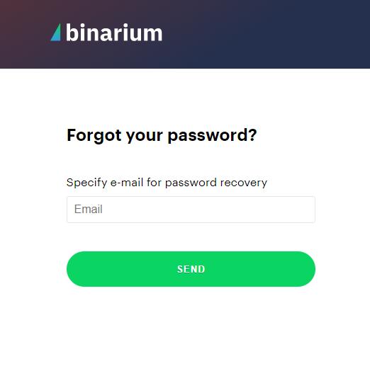 How to Login to Binarium